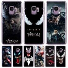 Venom For Cover Samsung Galaxy J2 J3 J5 J7 G530 G531 2015 2016 2017 Prime Note 8 9 EU Version phone Case coque funda Marvel hero