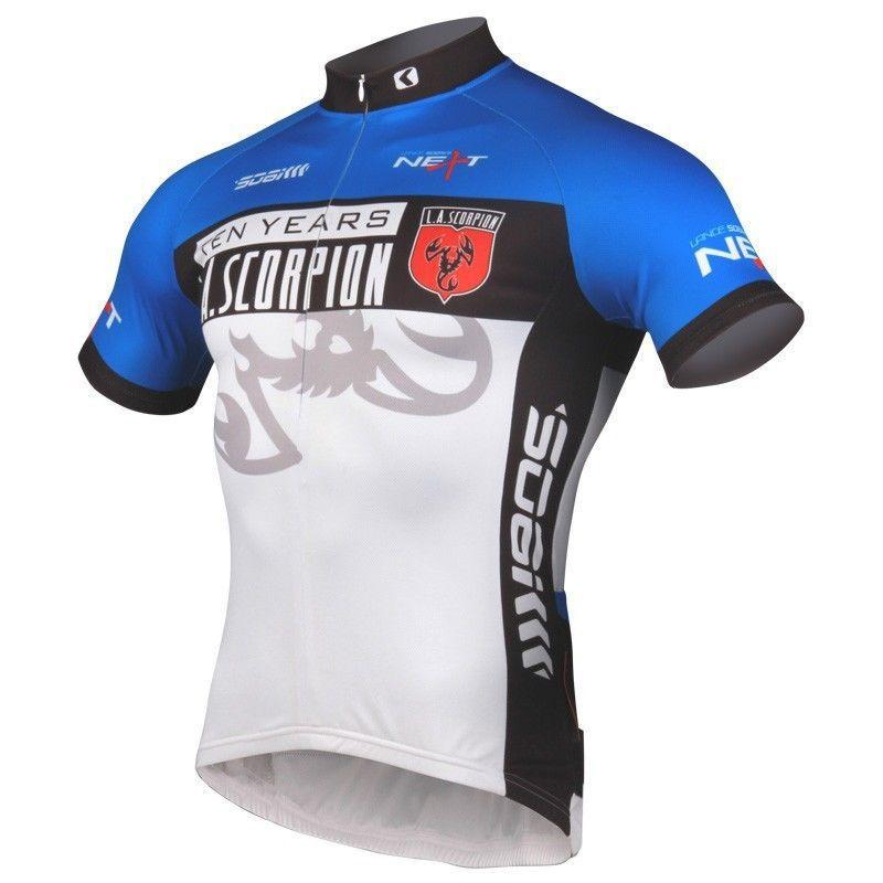 Prix pour Sobike Vélo Sport Vêtements Hommes Femmes de Sport En Plein Air De Bicyclette De Vélo À Manches Courtes Jersey Veste-Scorpion 2 Couleur