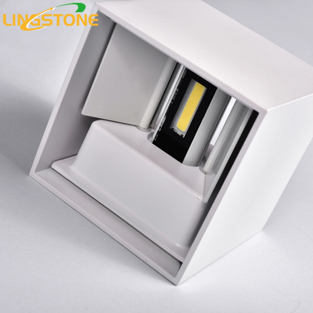 Modern led wall lamp outdoor ip65 waterproof lighting for Luminarias de exterior led