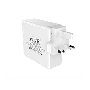 Image 5 - Typu C PD Adapter 60W szybka ładowarka USB ue usa wielka brytania szybkie ładowanie telefonu komórkowego USB dla MacBook iPhone XS Max Samsung Xiaomi Huawei