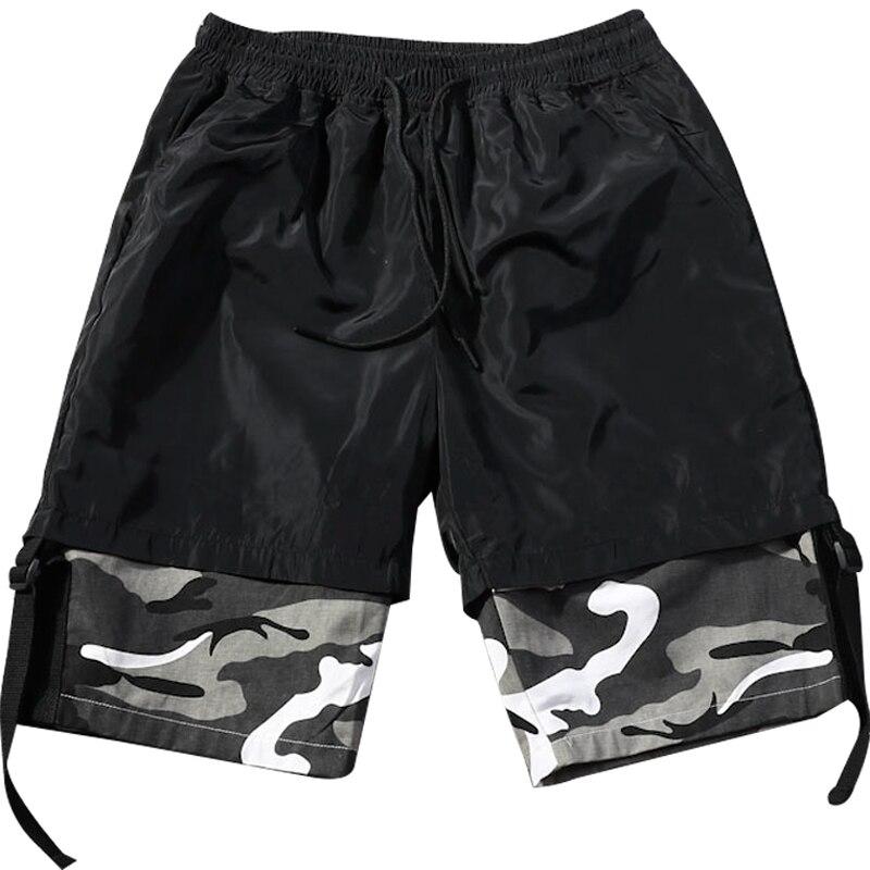 Men Shorts Military Oversized Hiphop Camo Plus-Size New 8xl 6xl 7xl