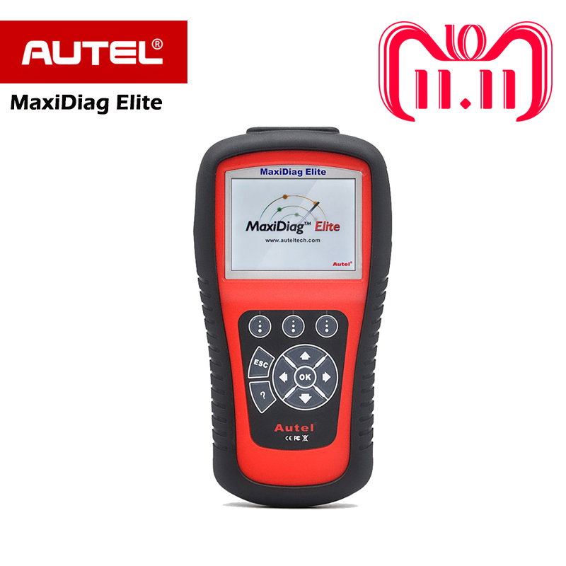 цена на Autel Maxidiag Elite MD802 OBD2 Scanner Auto All system DS Model Full System DS+EPB+OLS+Data Stream Diagnostic Tool PK MD805