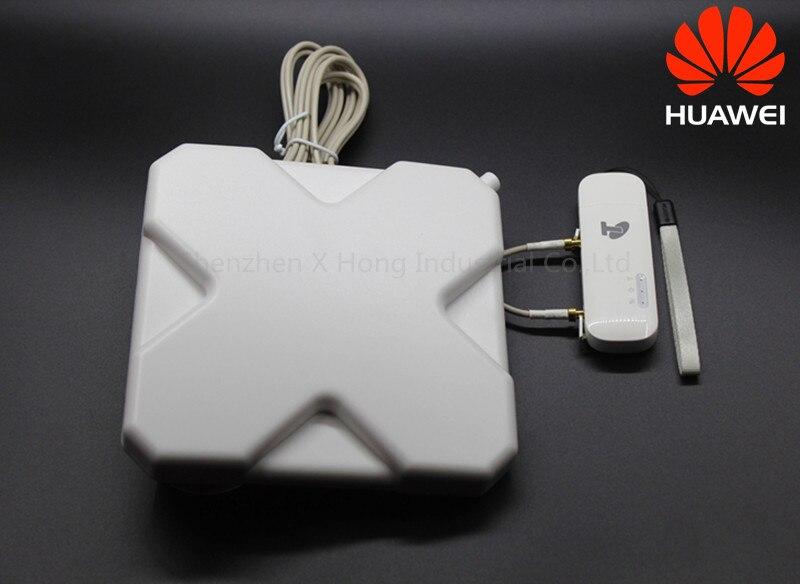 Débloqué Huawei E8372 E8372h-608 150 m LTE USB Wingle LTE Universel 4g USB WiFi Modem dongle voiture wifi avec 35DBI LTE ANTENNE