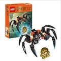2016 nueva venta caliente xzs bionicle carga de arañas cráneo 708-4 juguetes de bloques de construcción figuras de acción figura enlighten juguetes de los ladrillos