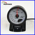 "2.5"" 60MM DF Advance CR Gauge Meter Turbo Boost Gauge 2.0BAR White Face With Sensor/AUTO GAUGE"