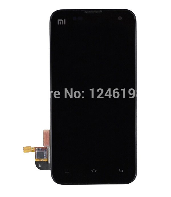 100 High Quality Full LCD Display Touch Screen Digitizer Assembly With Frame Bezel For Xiaomi M2