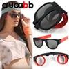 CRUOXIBB Cool Fold SlapSee Sunies Sunglasses Men Women S Fashion 2017 New Brand Designer Foldable Hip