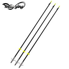 3Pcs Fiberglass Fishing Arrows Bow fishing Spine 300 for Recurve Archery