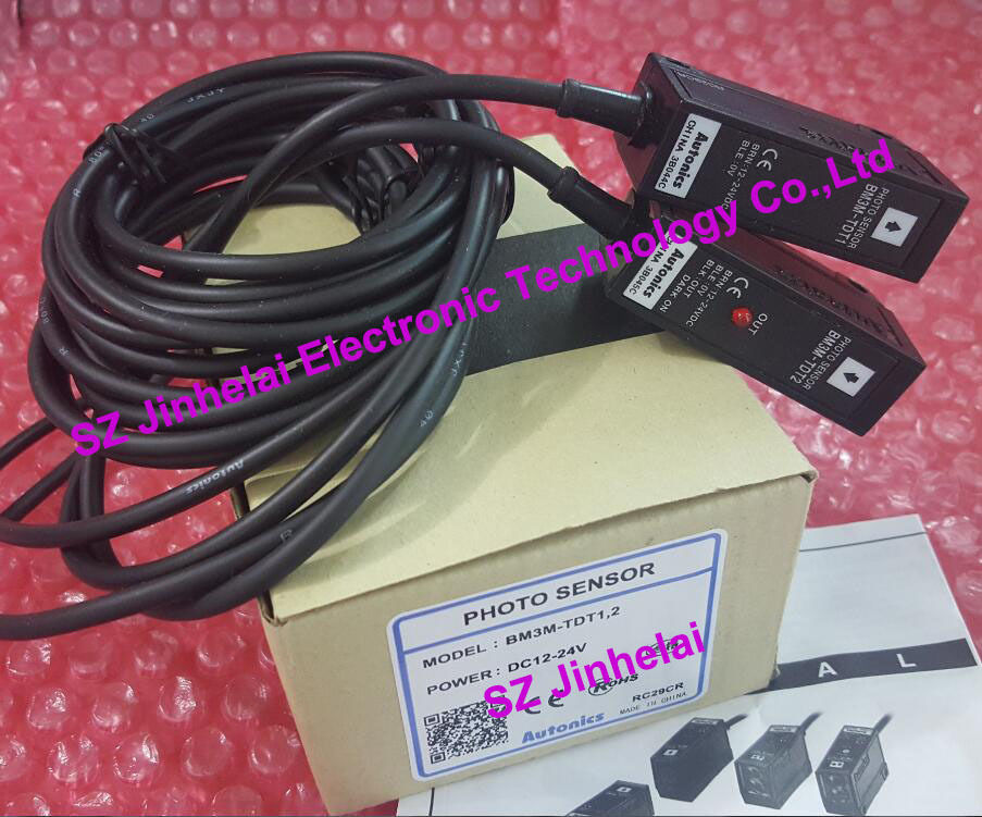 BM3M-TDT1,2  AUTONICS  New and original    PHOTO SENSOR  12-24VDC new and original by500 tdt1 2 autonics photo sensor 12 24vdc