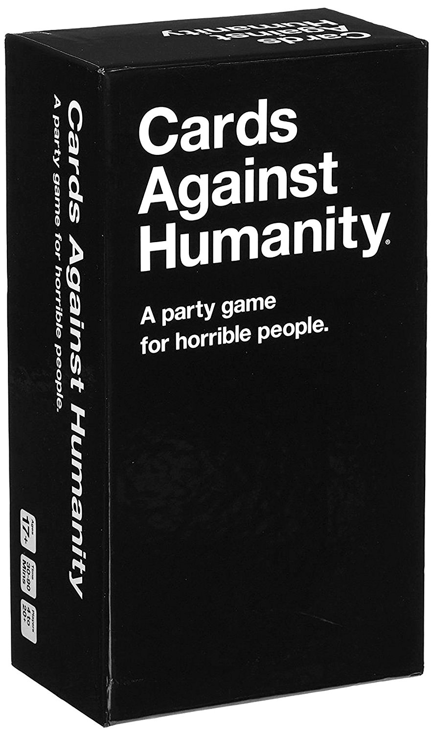 Cards Against the Humanity A Party Game for Horrible People Playing cards First Second Third Fourth Fifth sixth Expansion