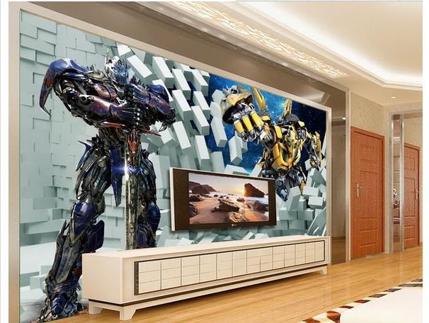 3d Wallpaper European Minimalist Bedroom Living Room TV Backdrop  Transformers 3D Stripes Abstract Mural Wallpaper 20157523