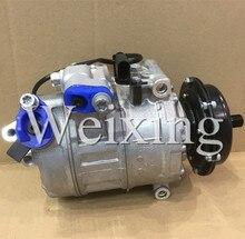 7seu16c ac Original compressors genuine for VOLKSWAGEN Pheaton,Touareg,Transporter Multivan 447260-0140 437100-5430 437100-7610