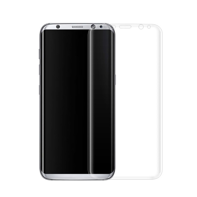 Brand New 3D Curved Film Tempered Glass for Samsung S8 Plus Full Coverage Protection Screen Protector
