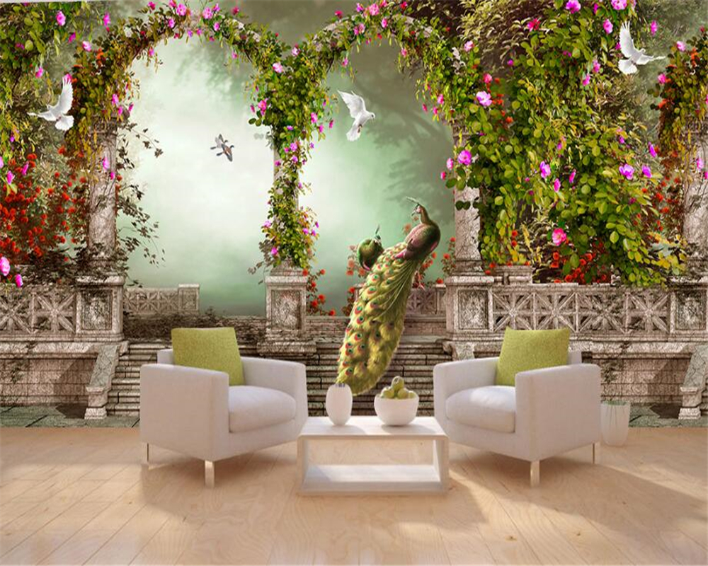 Fantasy wall murals image collections home wall decoration ideas beibehang fantasy beautiful wall paper arches large columns beibehang fantasy beautiful wall paper arches large columns amipublicfo Image collections