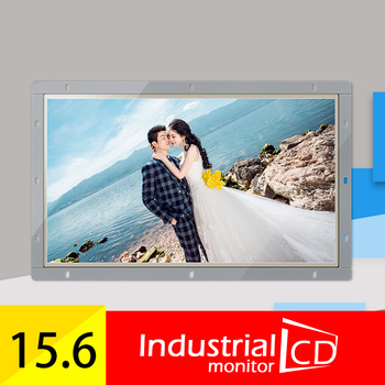 M156H-OF/ Faismars 15.6 inch 1920*1080 Open frame LCD Monitor With VGA AV TV HDMI/USB Interfaces And Built-in dual Speakers