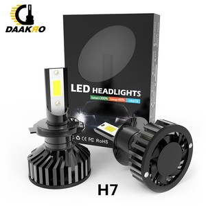 Image 4 - F2 led Auto Scheinwerfer Led lampe 9006 HB4 H1 9005 H10 HB3 H4 9003 HB2 H8 H9 H11 H7 4000lm auto Lampen Nebel Lichter Canbus Dropshipping