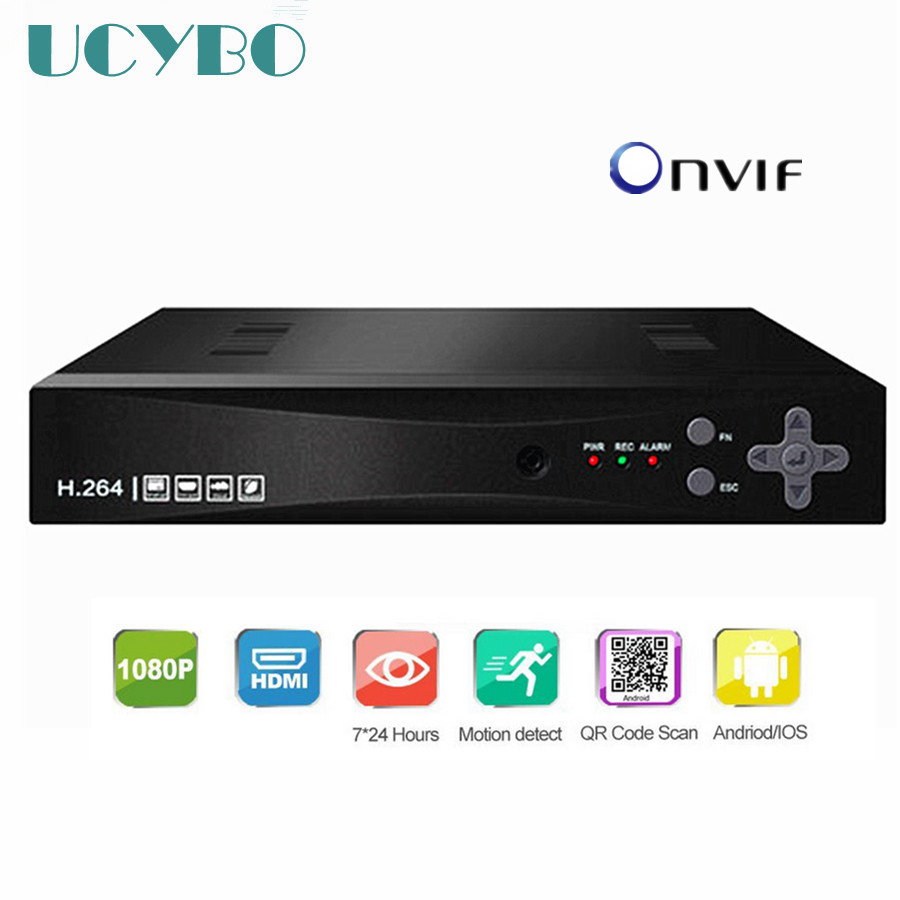Onvif 8ch 4CH Security 1080P NVR HDMI P2P Network Video Recorder Hd 720p 1080P 960P CCTV