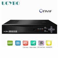 Onvif 8ch 4CH Security 1080P NVR HDMI P2P Network Video Recorder Hd 720p 1080P 960P CCTV