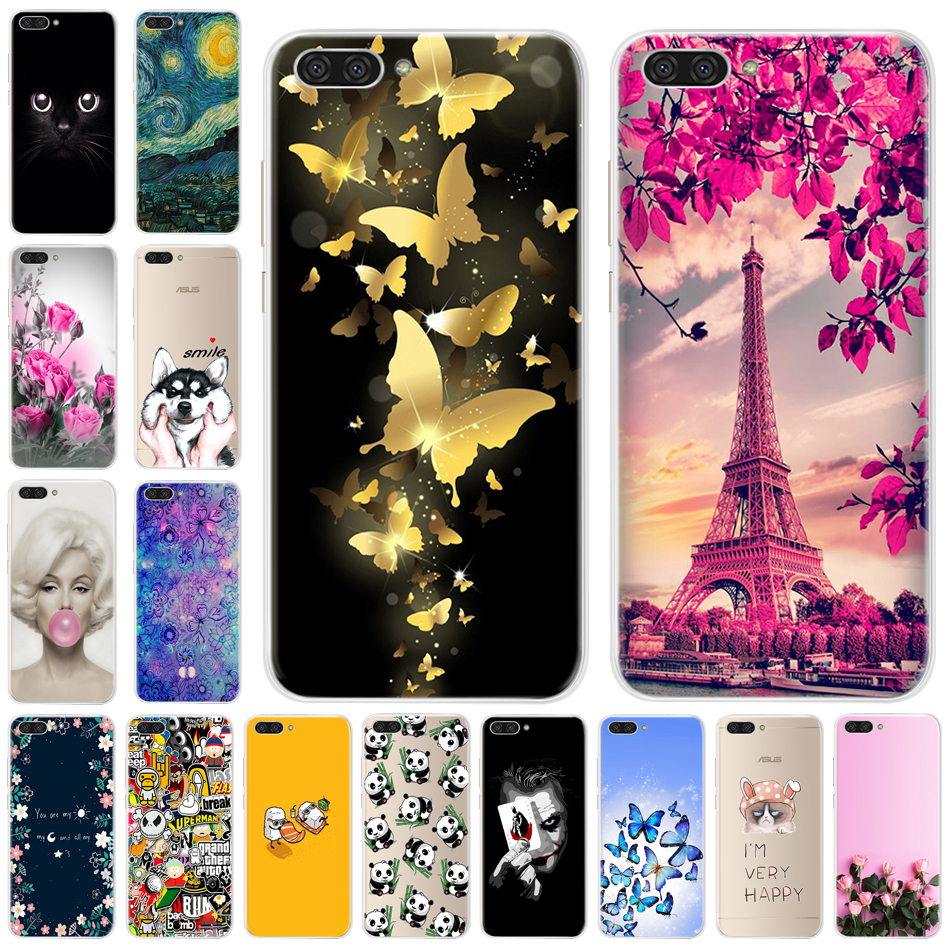 Case For Asus Zenfone 4 Max ZC520kl ZC 520kl Soft Silicone TPU Back Cover Case For Asus zenfone 4 max ZC520kl <font><b>ZC520</b></font> <font><b>KL</b></font> X00HD 5.2 image