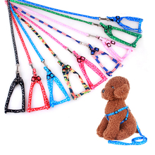 Collar Harness Traction Rope Leash Lead Pet-Cat Durable And 120cm Soft Nylon 12-Color