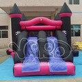 Gigante casa de brinco inflable combo diapositiva gorila saltando juguetes puente