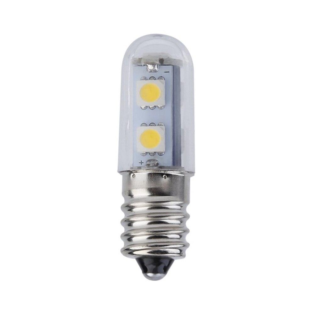 2017 New Arrival 1x Mini E14 1W 7 LED 5050 SMD Nature/Warm White Refrigerator Light Bulb Lamp, 110V/220V