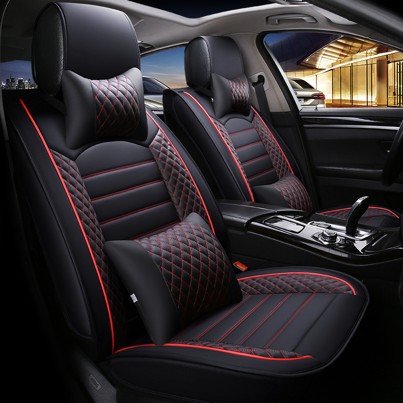 New Luxury Leather Universal Car Seat Cover For Honda