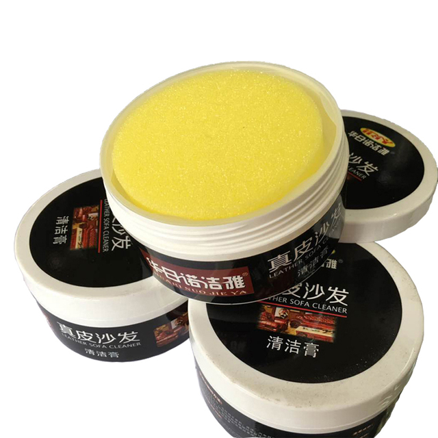 Pack of 200g) Leather Cleaner Leather Sofa Cleaning Cream Leather ...
