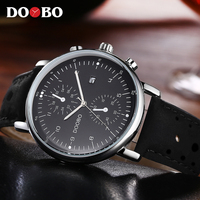 DOOBO Sport Mens Watches Top Brand Luxury Fashion Casual Quartz Watch Men Reloj Hombre 2017 Clock