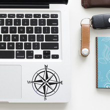 Vintage Compass Trackpad Decal Laptop Sticker for Apple Macbook Pro Air Retina 11 12 13 15 inch Vinyl Mac Notebook Touchpad Skin