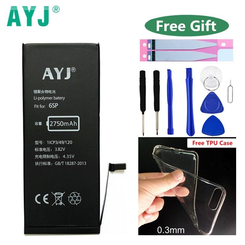 AYJ Replacement Battery Li-Ion-Batteries IPhone 6s 2750mah-Batarya 100%Original For Plus/6sp