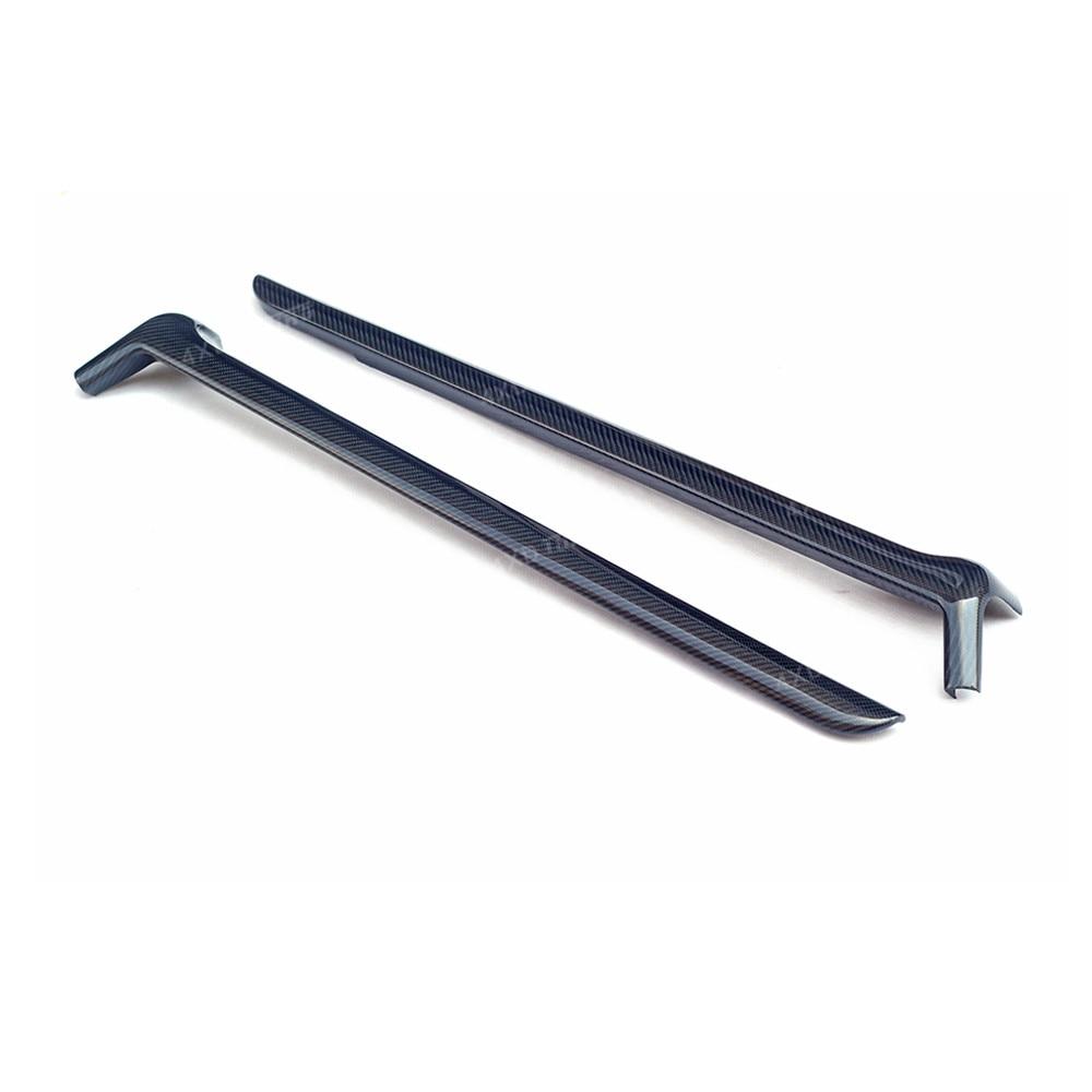 For Mercedes Benz G Class A Pillar & C Pillar G500 G63 Carbon Fiber A Pillar & C Pillar Mouldings Air Vent Trim Covers 2010 2019