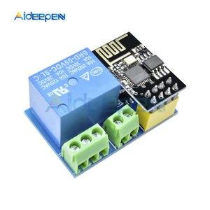 ESP8266 5 в 1CH релейный модуль ESP-01 WIFI модуль для Arduino UNO R3 Mega2560 Nano Raspberry Pi умный дом Беспроводная релейная плата