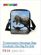 saco de comida para crianças dinossauros saco