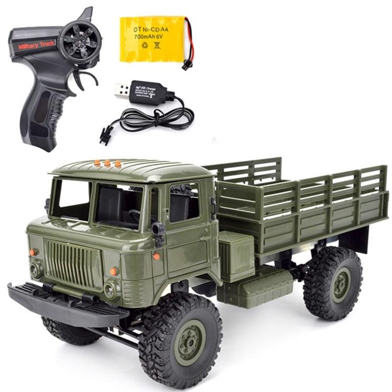 RC Camion Militaire 2.4g 4WD 1:16 Off-road RC Voiture Véhicule Jouet Escalade De Voiture Télécommande Jouets Radio contrôlée Machine Enfants Cadeau