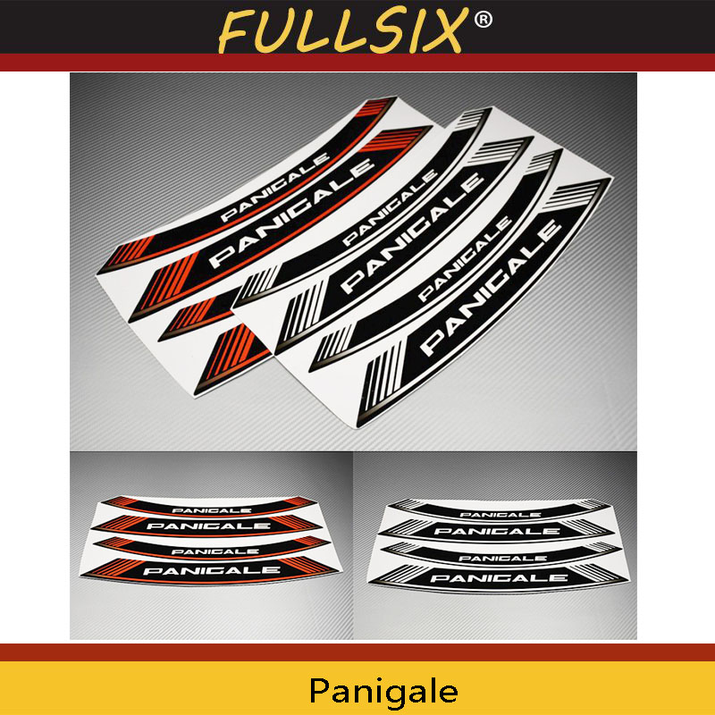 Panigale 899 959 motorcycle wheel decals rim stickers stripes for ...