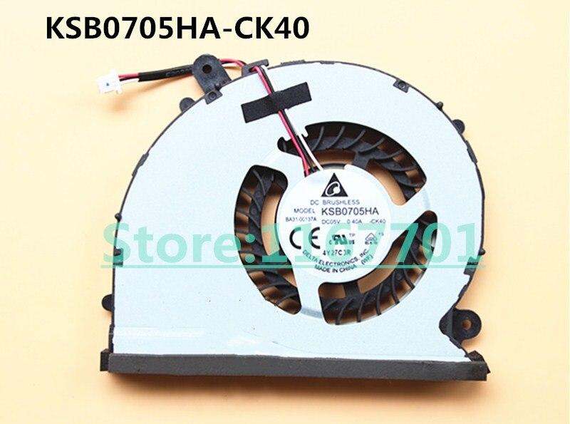 Nouveau ventilateur de refroidissement d'origine pour ordinateur portable/ordinateur portable CPU/GPU pour Samsung ATIV One 7 DP700A7K 700A7K AIO tout-en-un KSB0705HA-CK40