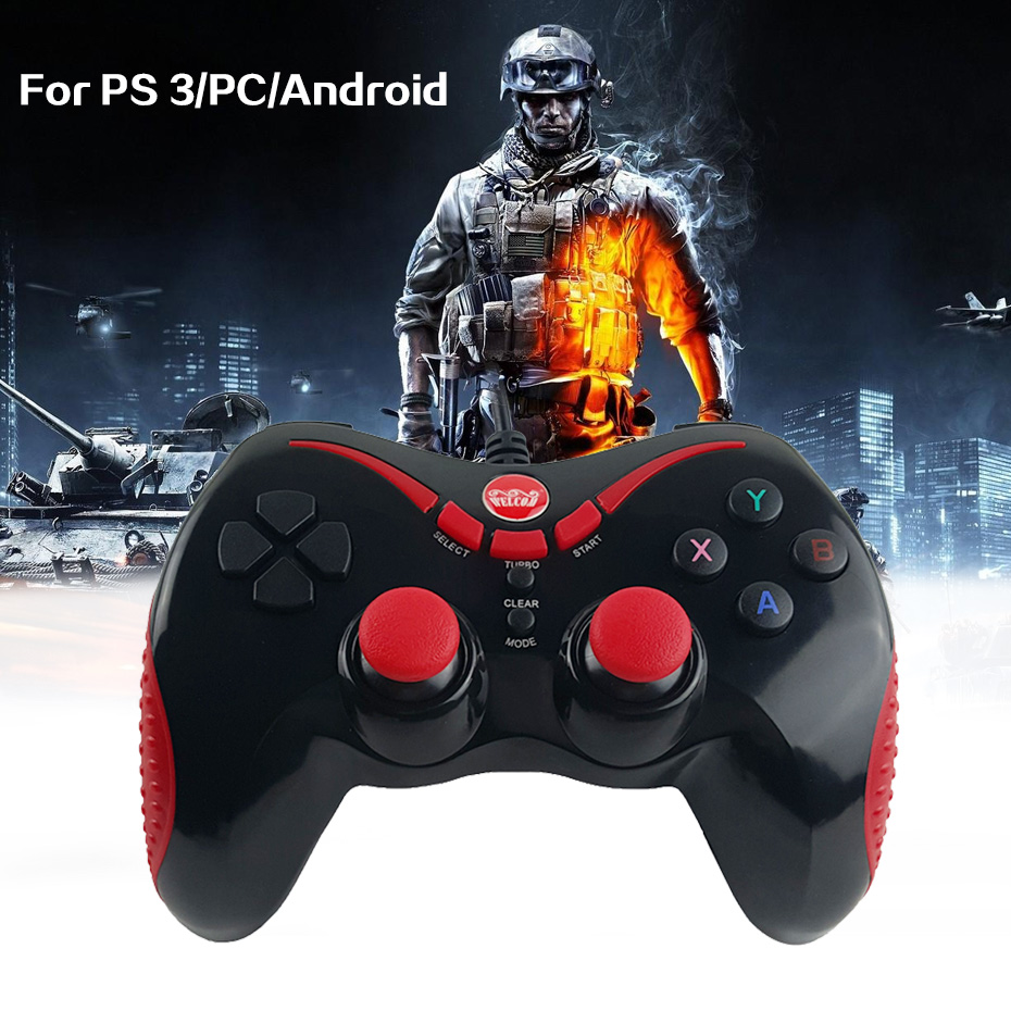 Shop2882317 Store Wired Controllers USB Gamepad For PC PS 3 Gamer Android USB Joystick Control PC Game Tablet Game PlayStation 3 with OTG Cable