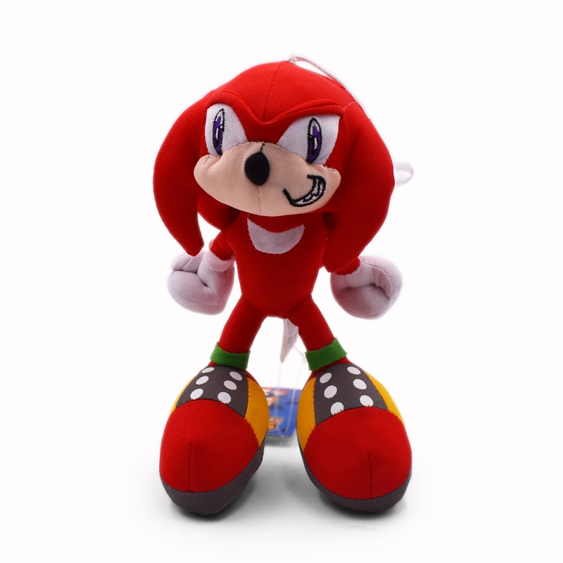19cm Sonic Cartoon Anime Plush Toys For Children Stuffed Peluche Dolls Baby Brinquedos Gift For Kids Free Shipping
