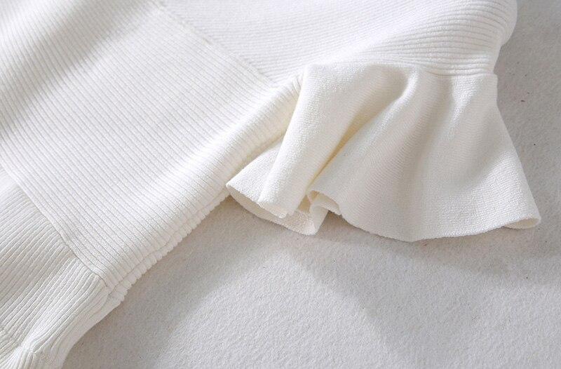 Della Donne Al Rappezzatura Garza Abiti Green White Pieghe Maxi Spalla Largo Z883 lake A Maglia Modo Eleganti Di Lungo Da Colore Lavoro Solido Vestito Casual q4qFv