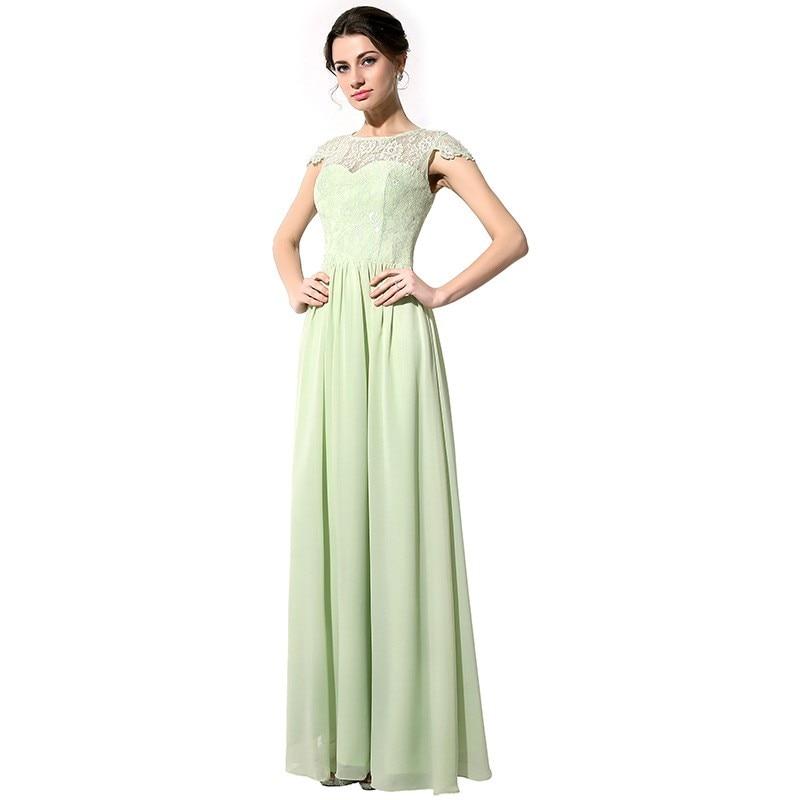 Sage green lace dress