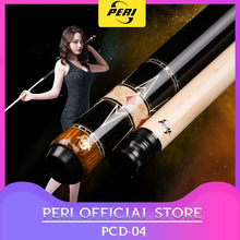Offical PERI PCD-04 Billiards Carom Cue 12mm Tip Carom Billiard Professional Handmade  3 Cushion Game Cue Carom with Gifts wooden billiards mini desktop billiards fun billiard game billiards