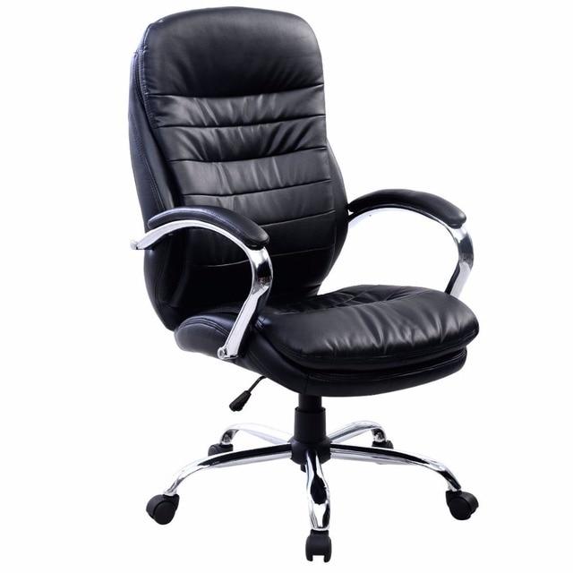 New Goplus Ergonomic Office Computer Chair Armchair Executive High Back Lift Swivel