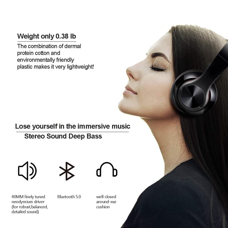 QAIXAG Berat Bluetooth Headphone