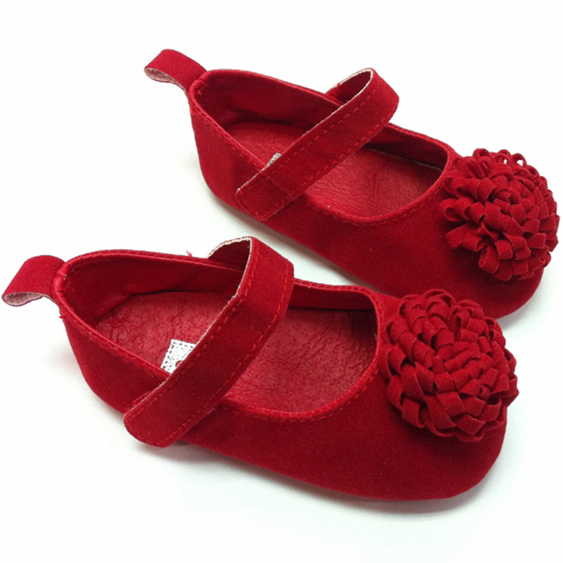 New Festival flower First Walkers 0-1 Years Infant Baby Girls First Walkers Frewalker Shoes