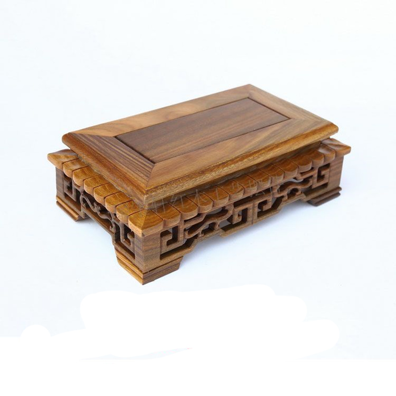 Base on The Green Sandalwood Carvings Handicraft Furnishing Articles Kettle Pot of Buddha Aquarium Household Act The Role Ofing play smart 7х33 4x5 7 см