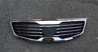Original ABS Chrome Front Grille Around Trim Racing Grills Trim For Kia Sportager 2011 2012