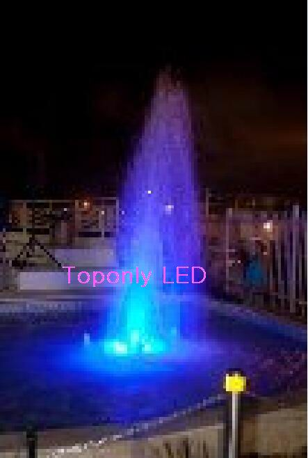 5pcs rgb dmx underwater smaller wall mounted led pool lights piscina for pools and spas dmx512 controller power supply dc24v IP68 DC24v 18w rgb led pool light led fountain light perfectly using for underwater compatible with DMX512&normal controllers