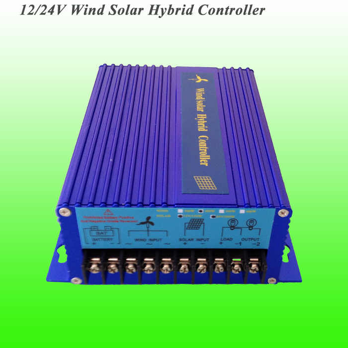 2018 Hot Selling 600W 12V/24V Auto Adaptive PWM Wind Solar Hybrid Controller with Competitive Price & 3 Years Warranty
