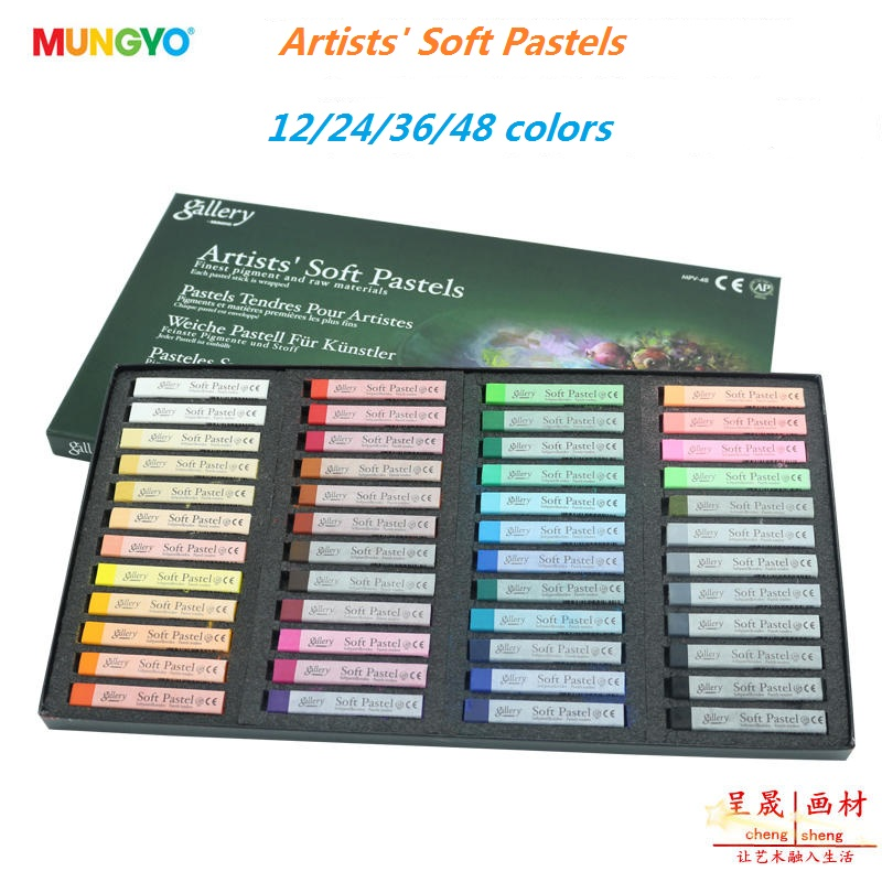 Painting Crayons New Soft Pastel 24/32/48/12 Colors/Set Art Drawing Set Chalk Hair Color Crayon Brush Stationery for Students 24 colors oil pastel crayons child support non toxic art tools pen stationery painting the nursery pupils new wholesale